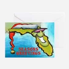 Funny Florida christmas Greeting Cards (Pk of 10)