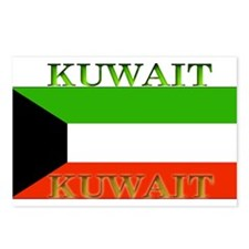 Kuwait Kuwaiti Flag Postcards (Package of 8)