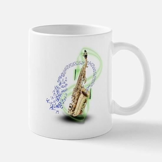 Soprano Saxophone Mug