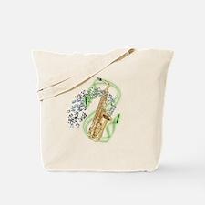 Alto Saxophone Tote Bag