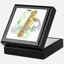 Baritone Saxophone Keepsake Box