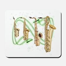 Saxophones Mousepad