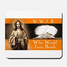 WWJB - Traditional Jesus Mousepad