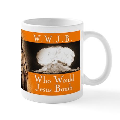 WWJB - Traditional Jesus Mug