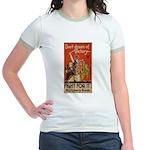 Don't Dream of Victory! Jr. Ringer T-Shirt