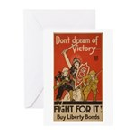 Don't Dream of Victory! Greeting Cards (Package of