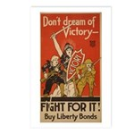 Don't Dream of Victory! Postcards (Package of 8)