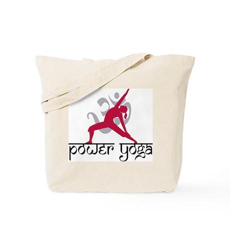 Power Yoga Tote Bag