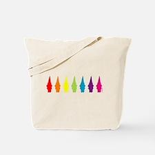 Rainbow Gnomes Tote Bag