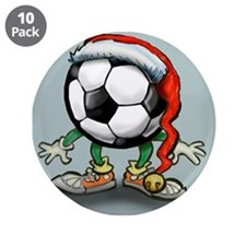 "Unique Soccer player 3.5"" Button (10 pack)"