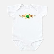 Firefighter Shamrock Infant Bodysuit