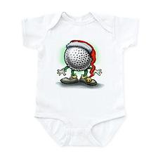 Cute Christmas golf Infant Bodysuit