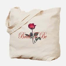 bride to be red Tote Bag