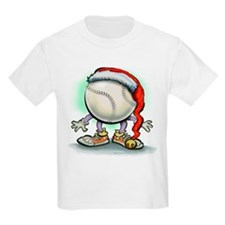 Baseball Christmas Tee T-Shirt