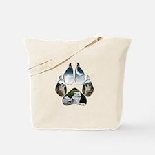 Wolf Print Tote Bag