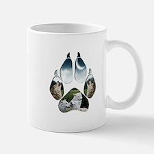 Wolf Print Mug