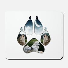 Wolf Print Mousepad