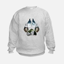 Wolf Print Sweatshirt