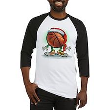 Funny Basketball hoops Baseball Jersey