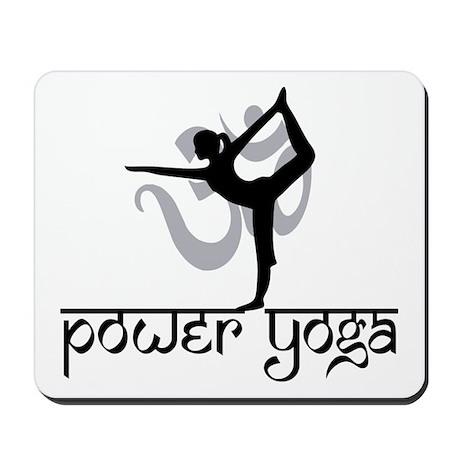 Power Yoga Mousepad