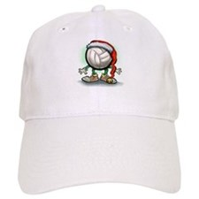 Unique Volleyball christmas Baseball Cap