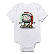 Cute Volleyball christmas Infant Bodysuit