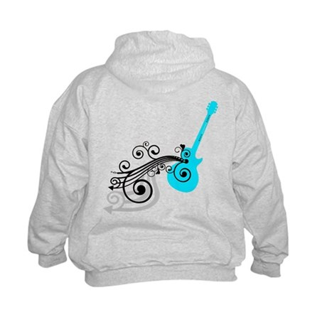 Kids Acoustic Guitar Hoodie