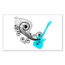 Electric Guitar Decal