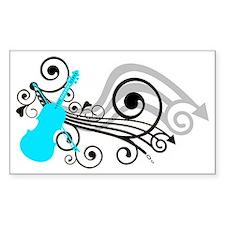 Violin Decal