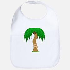 arms hugging coconut tree Bib