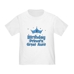 1st Birthday Prince's Great A T