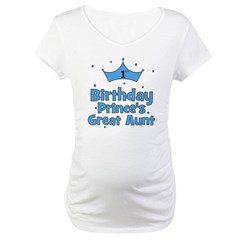 1st Birthday Prince's Great A Shirt