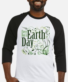 Every Day is Earth Day Baseball Jersey