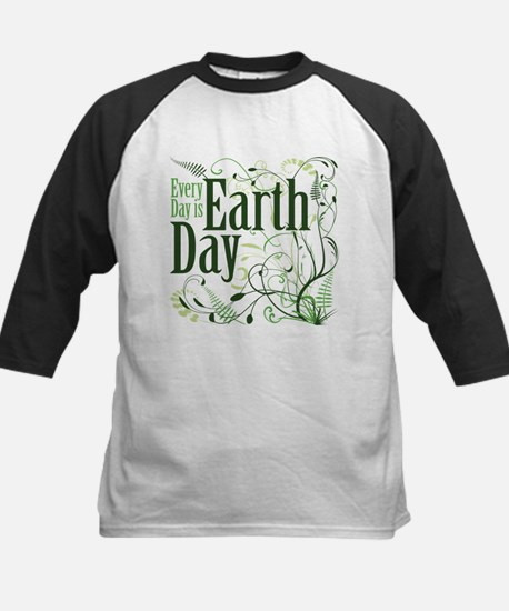 Every Day is Earth Day Kids Baseball Jersey