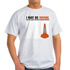 I May Be Drunk - Ash Grey T-Shirt