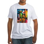 Master Spirits Artwork Fitted T-Shirt