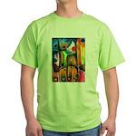 Master Spirits Artwork Green T-Shirt