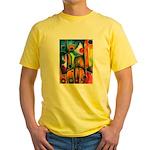 Master Spirits Artwork Yellow T-Shirt