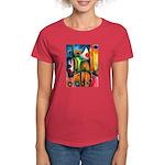Master Spirits Artwork Women's Dark T-Shirt