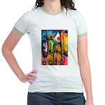 Master Spirits Artwork Jr. Ringer T-Shirt
