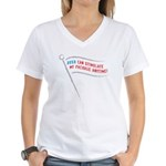Stimulus Package Women's V-Neck T-Shirt