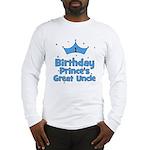 1st Birthday Prince's Great U Long Sleeve T-Shirt