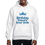 1st Birthday Prince's Great U Hooded Sweatshirt