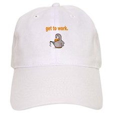 Get to Work Penguin Baseball Baseball Cap