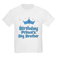 1st Birthday Prince's Big Bro T-Shirt