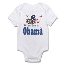 I Believe In Obama Baby Creeper Infant Bodysuit