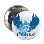 "Obama Peace Symbol 2.25"" Button"