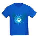 Obama Peace Symbol Kids Dark T-Shirt
