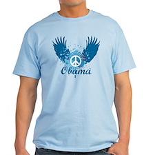 Obama Peace Symbol T-Shirt