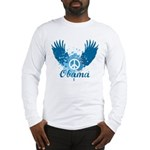 Obama Peace Symbol Long Sleeve T-Shirt